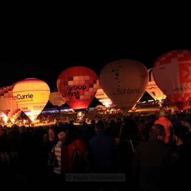 Bristol International Balloon Fiesta 2014 - Nightglows and Fireworks